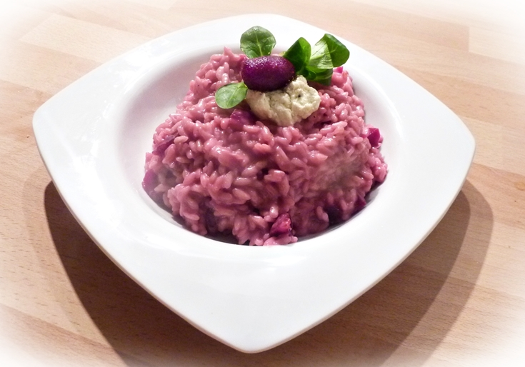 beetroot-and-boursin-risotto