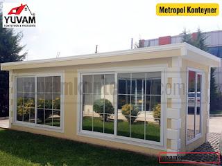 Metropol ofis, showroom, büro konteyneri