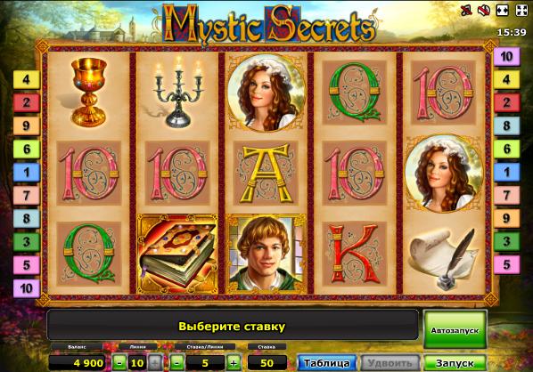 Joaca acum Mystic Secrets Online