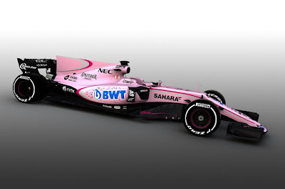 Force India VJM10 2017 Front Side 2