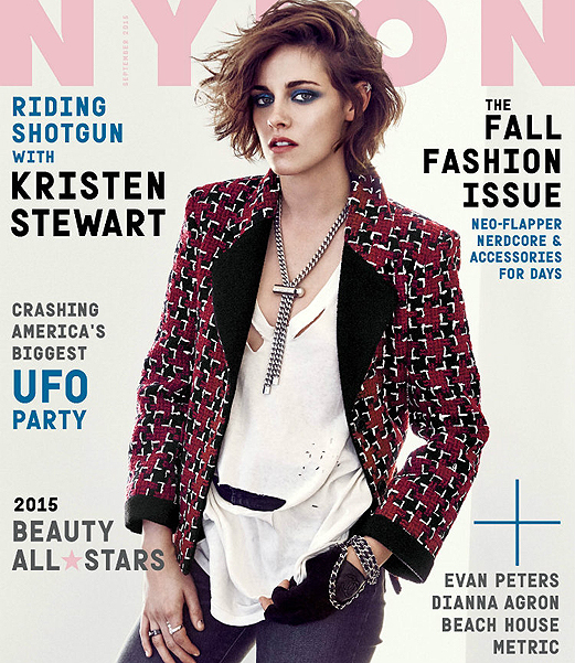Kristen Stewart photo shoot for Nylon Magazine