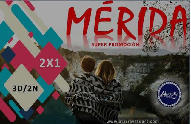 imagen Mérida 03 días y 02 noches súper promoción