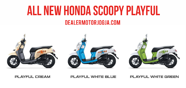 New Honda Scoopy eSP Playful