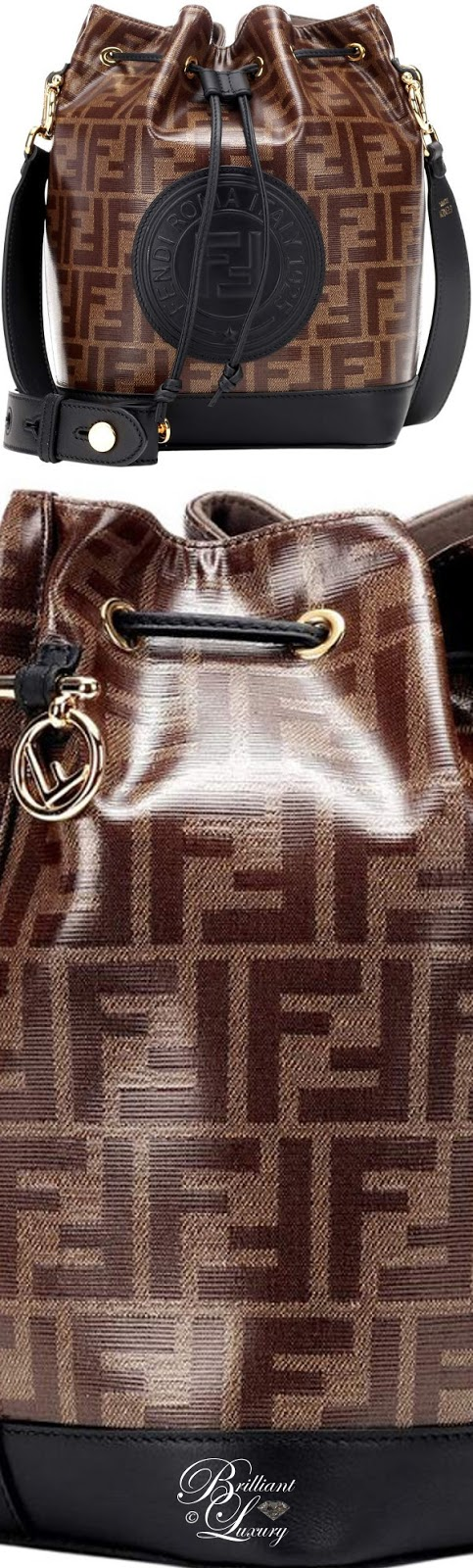 Brilliant Luxury ♦ Fendi Mon Trésor Small Bucket Bag