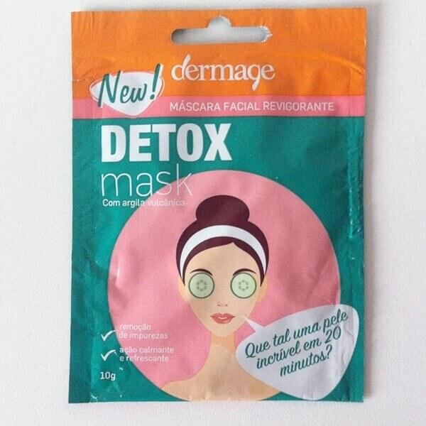 Resenha: Detox Mask - Dermage