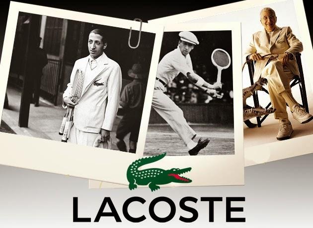 0ce8dccc89b Rachel´s Fashion Room  La historia de  Lacoste  y su famoso cocodrilo