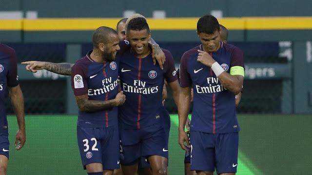 Alves Membawa PSG Menjuarai Piala Super Prancis