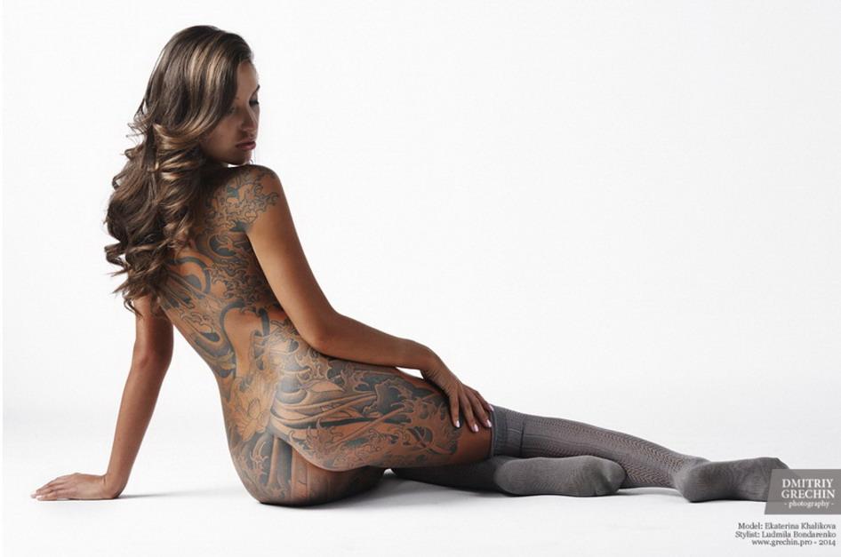 foto artistica modelo: