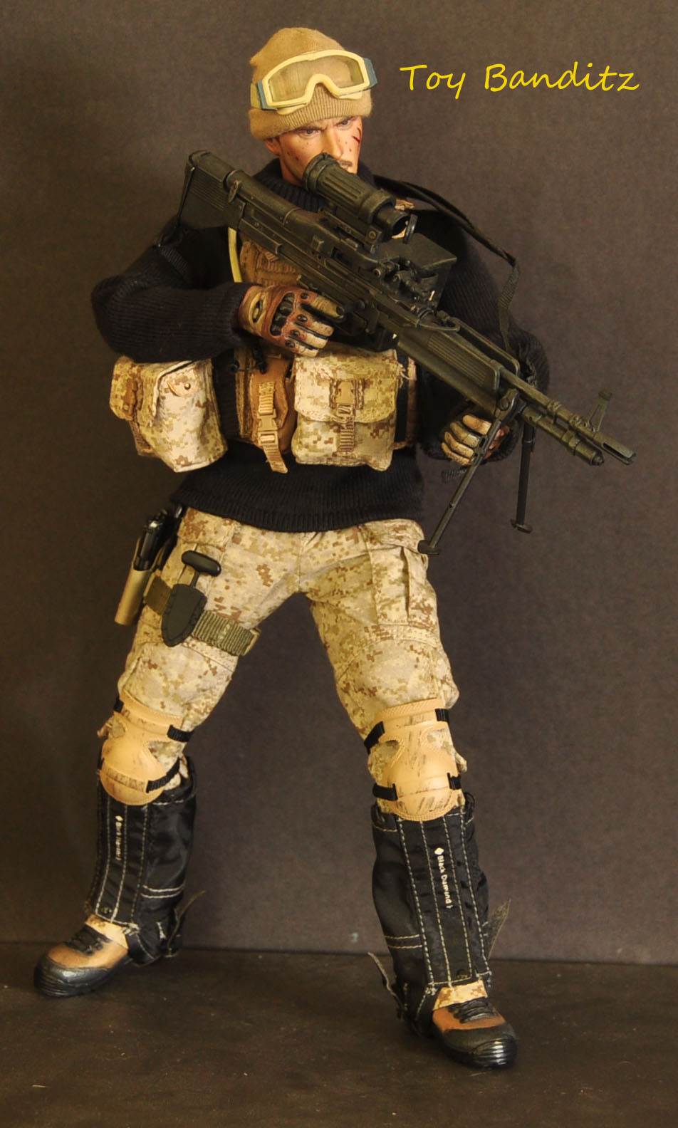 Toy Banditz Navy Seal Gunner Kitbash
