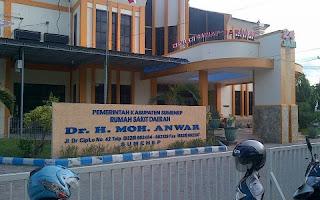 Penerimaan Pegawai BLUD Non PNS pada RSUD dr. H. Moh. Anwar Kabupaten Sumenep Formasi Tahun 2017