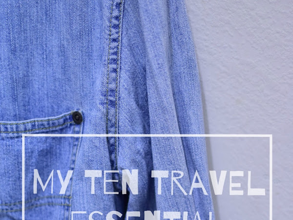 Travel Diary : My ten travel essential