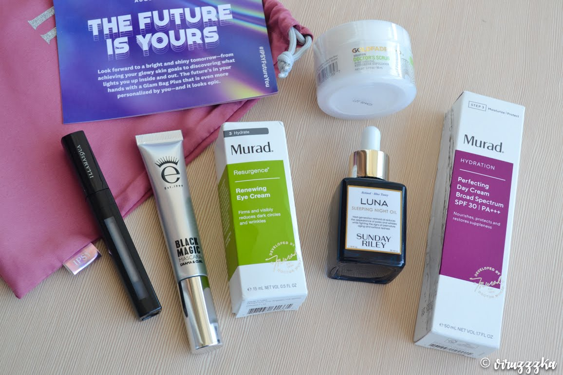 IPSY Glam Bag Plus The Future Is Yours August 2020 Review