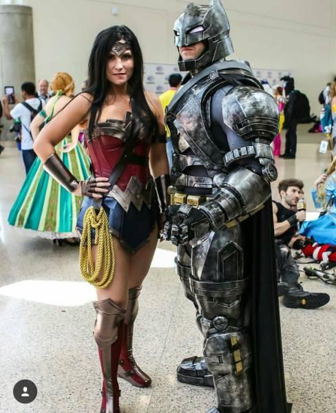 Gaucho Negro Rlsh Cosplay Mulher Maravilha Wonder Woman De