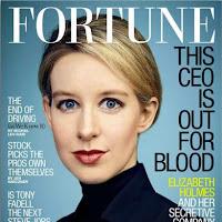 Elisabeth Holmes fra glansdagene, forsiden av Fortune