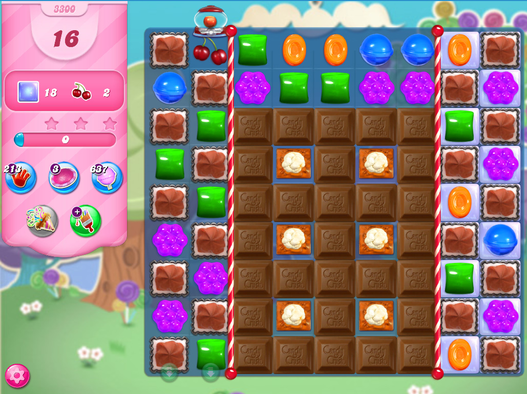 Candy Crush Saga level 3300