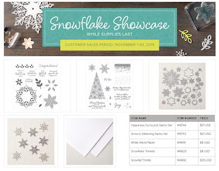 Details of Stampin'UP!'s November Sale: Snowflake Showcase