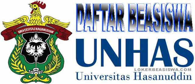 Daftar Beasiswa Universitas Hasanudin