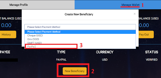 Verify tài khoản