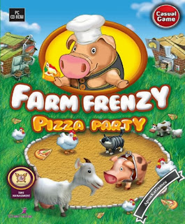 Farm Frenzy Pizza Party Cover, Poster