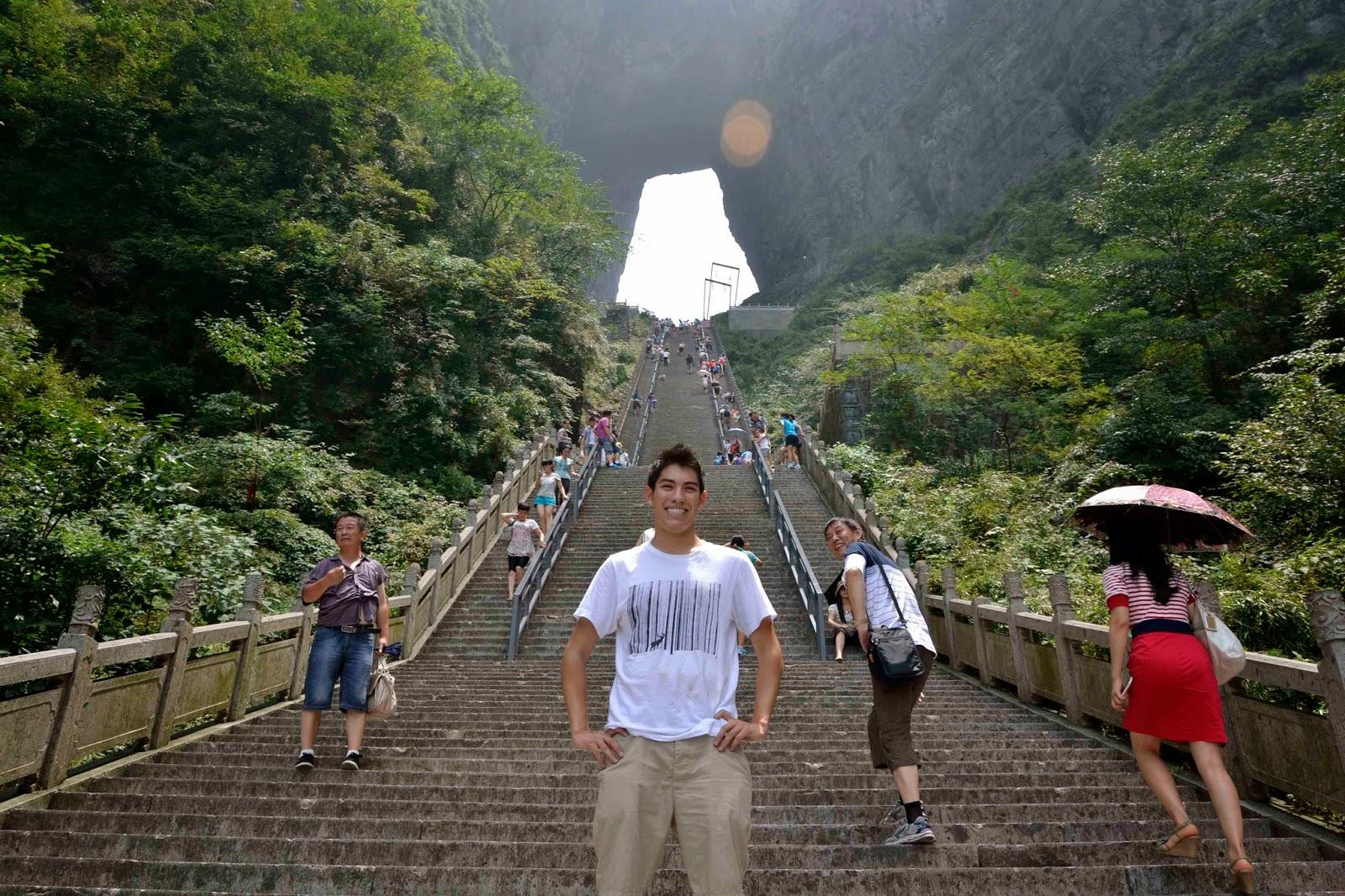 La puerta del cielo en China, Heaven´s Gate, la gran Muralla China,
