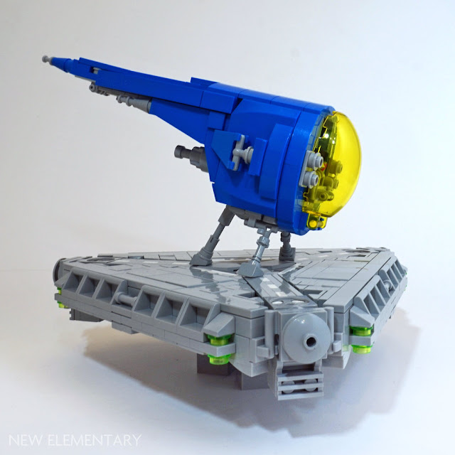 Tim Goddard LEGO spaceship