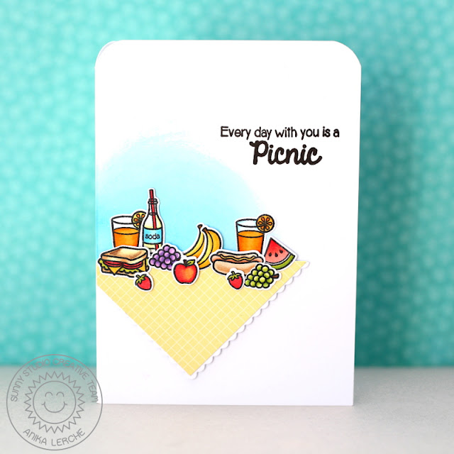 Sunny Studio Stamps: Summer Picnic Card by Anni.