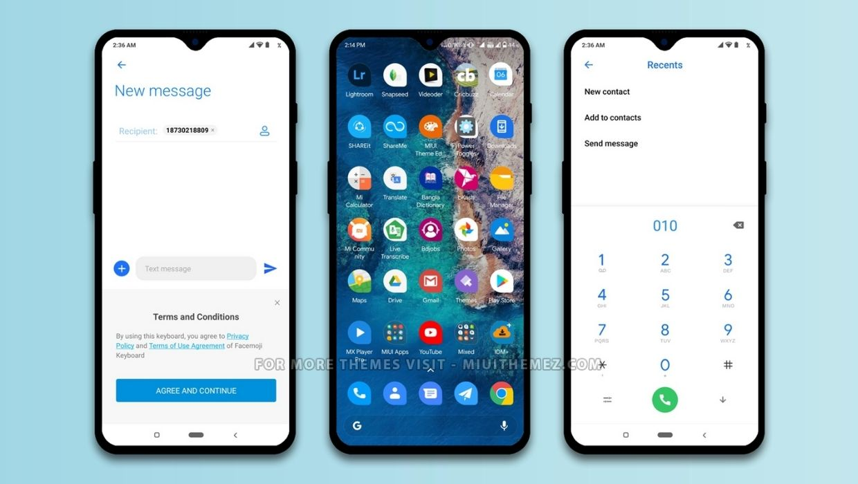Pixel Experience Teardrop Theme for MIUI 12 Devices