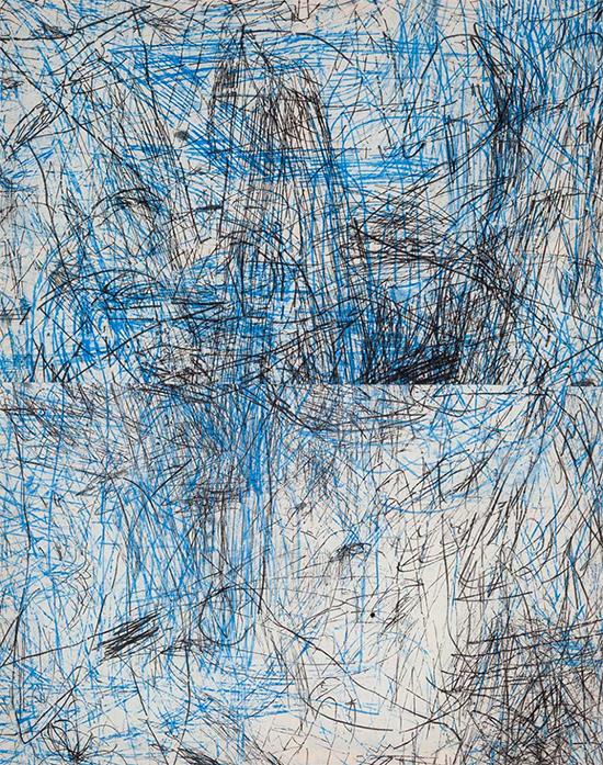 Habib Farajabadi Untitled Painting #019, 2017 Acrylic on linen  190 x 160 cm