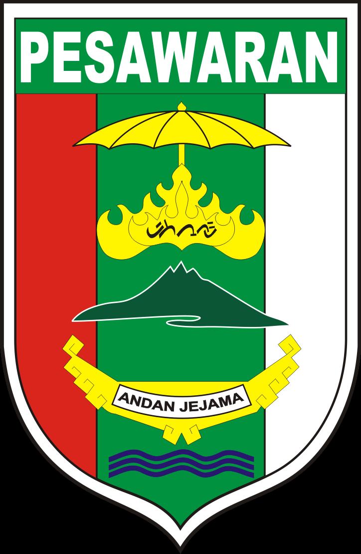 Logo Kabupaten Pesawaran Logo Lambang Indonesia