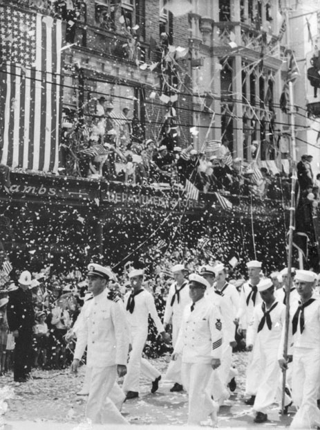 26 March 1941 worldwartwo.filminspector.com Brisbane parade US Navy troops