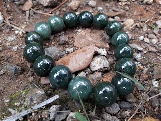 Gelang Batu Giok Jadeite Jade Type A JDT011 No Treatment