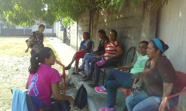 Mujeres se organizan en el Municipio Simón Planas para fortalecer el trabajo campesino-comunal