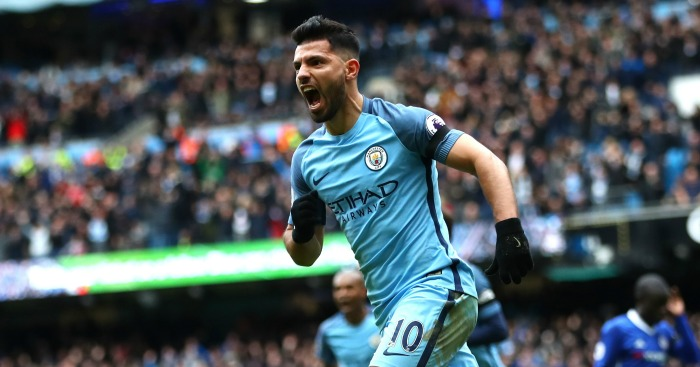 Chelsea eye Sergio Aguero deal