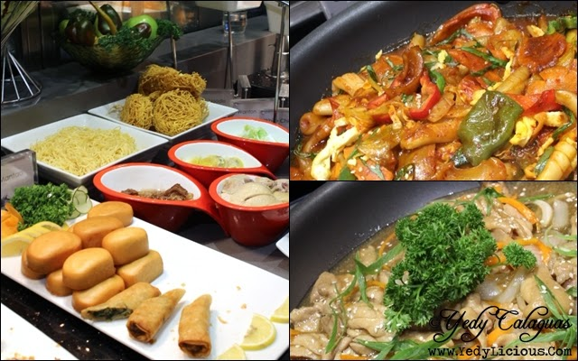 Chinese and Korean Dishes at Vikings Buffet SM Megamall