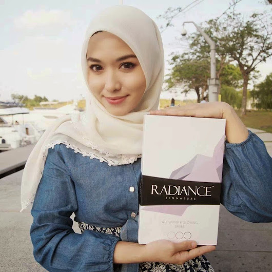LizQasandra shop: Radiance Signature™ Whitening & Glowing Series.