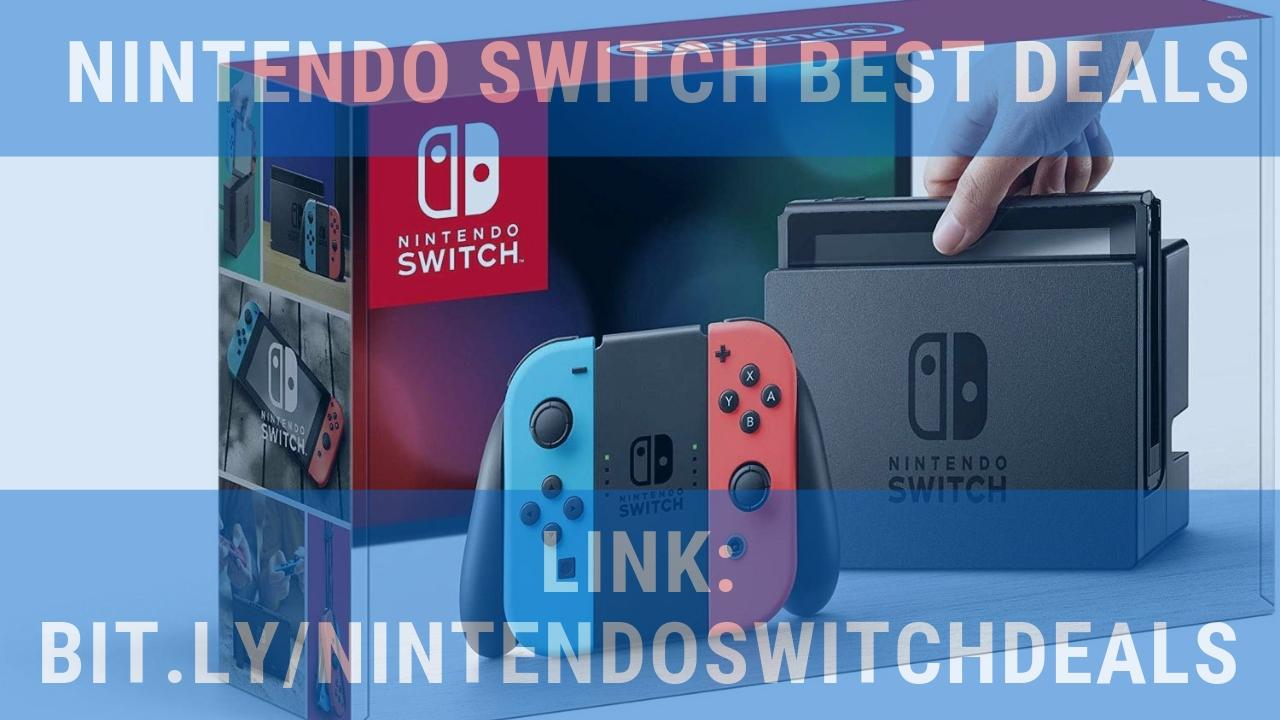 GREAT DEALS!, http://bit ly/nintendoswitchdeals, Nintendo