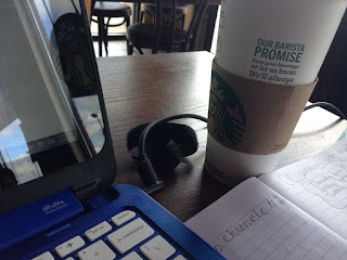 alone time at Starbucks