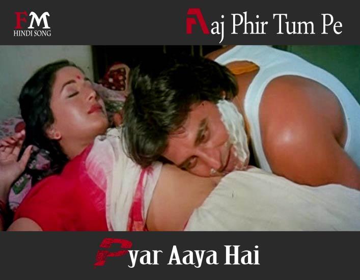 Aaj-Phir-Tum-Pe-Pyar-Aaya-Hai- Dayavan-1988