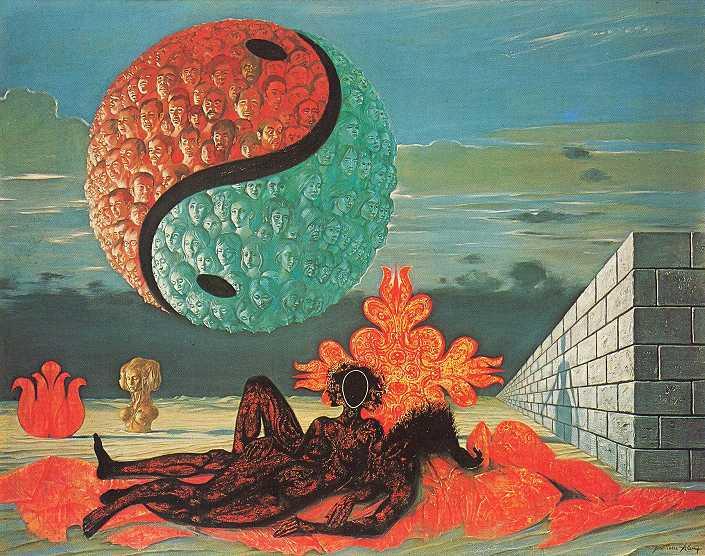 Jean-Pierre Alaux 1925 | French Surrealist painter
