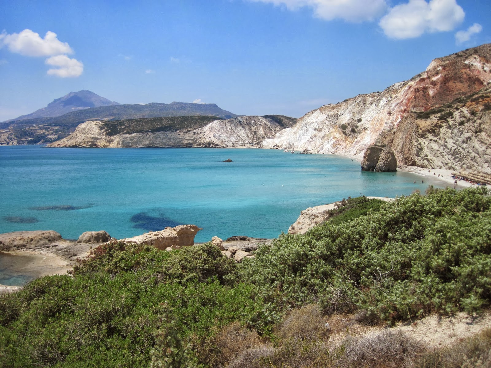 To See The Seven Continents Milos Greece