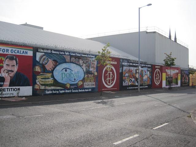 Belfast polítical murals