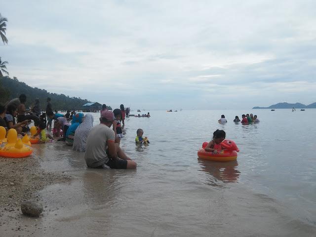 Pantai Klara di Kabupaten Pesawaran, Provinsi Lampung