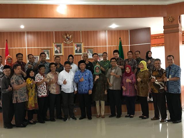 """DPRD Sala Tiga Belajar soal """"Membangun Desa"""" ke OKI"""