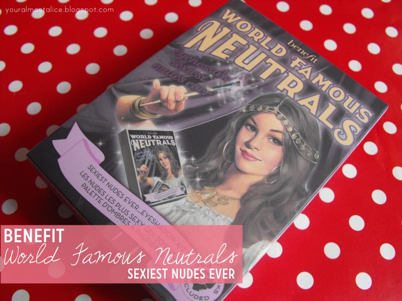 Benefit World Famous Neutrals in Sexiest Nudes Ever
