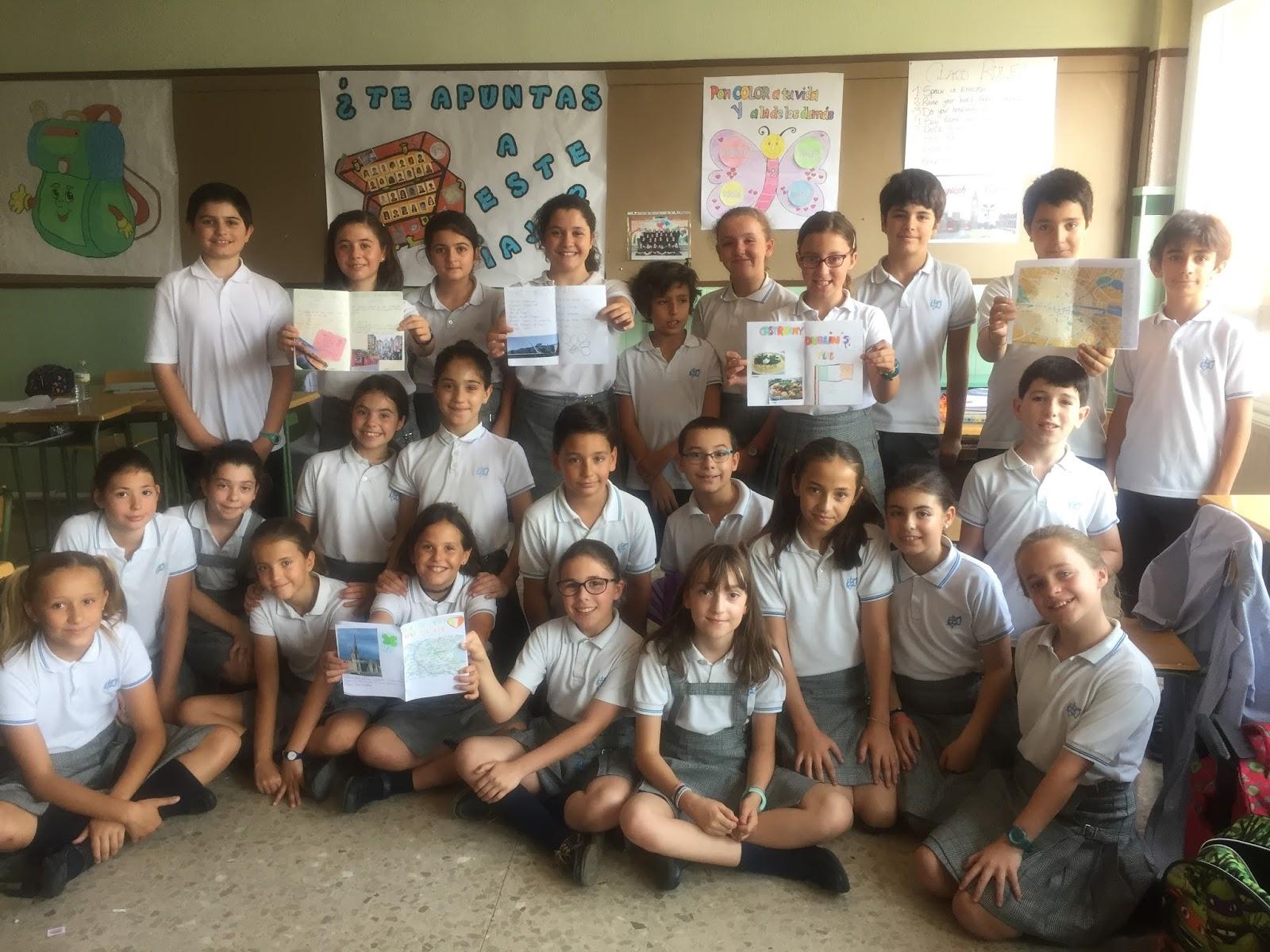 Agustinas Valladolid - 2017 - Primaria 5 - Ingles