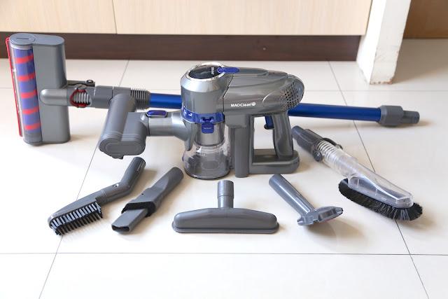[科技] [家電] 日本 BMXrobot MAO Clean m6 無線手持吸塵器:20kPa 吸力+ HEPA H13 濾網再升級,15件配件組高CP首選