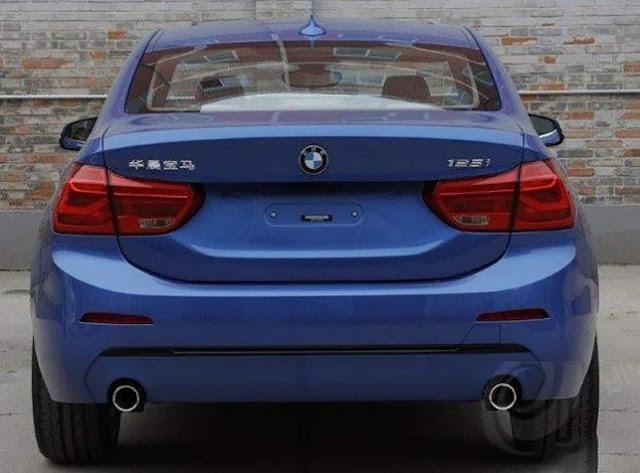 Novo BMW Série 1 Sedan - 125i - traseira