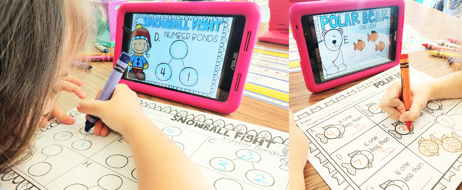 Use Ipads, tablets, and integrate technology with these print and go Digital Centers!