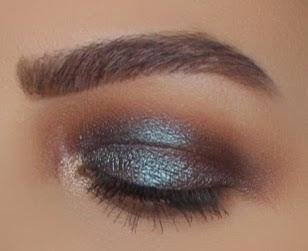 Tutorial:Tarteist Pro Palette Teal Metallic Look
