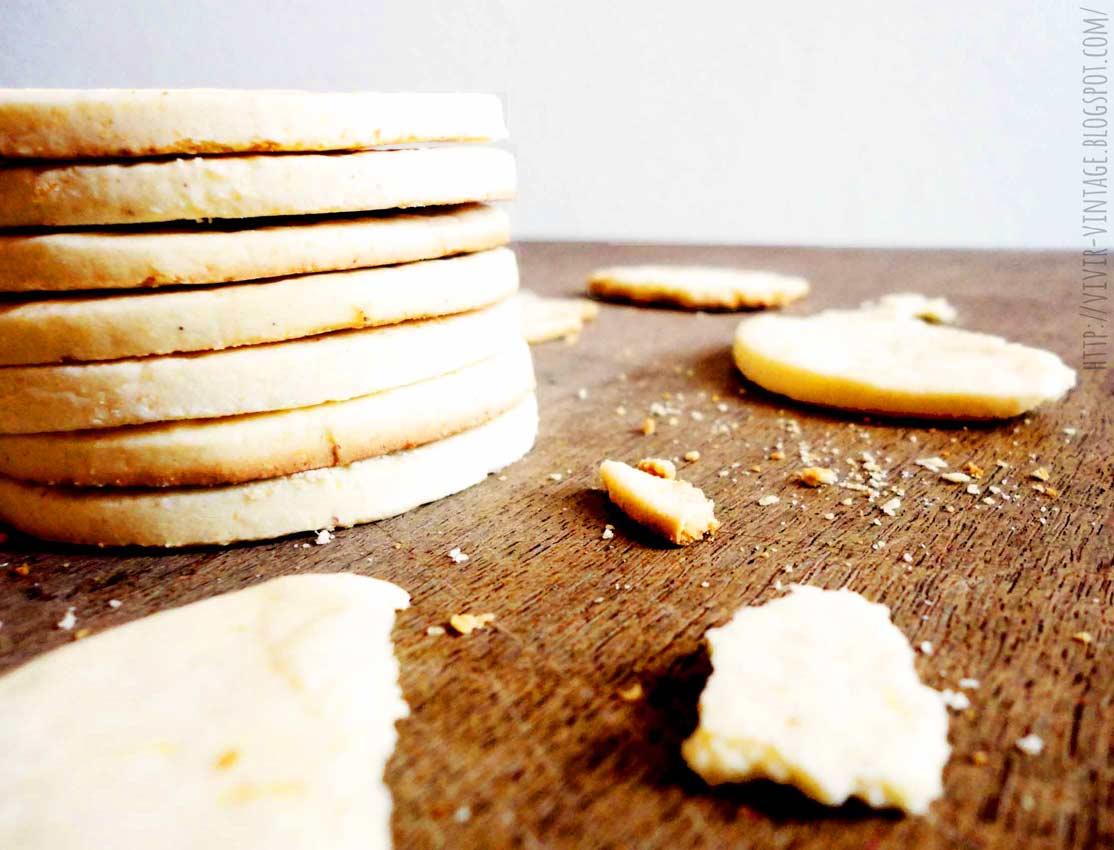 galletas de manteca sin horno